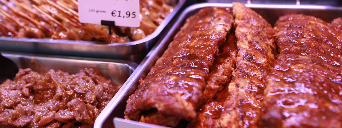 Barbecue BBQ spareribs