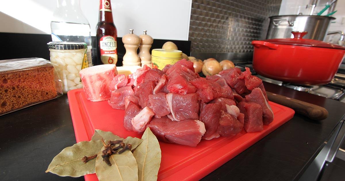stoofvlees Maastrichts zuurvlees