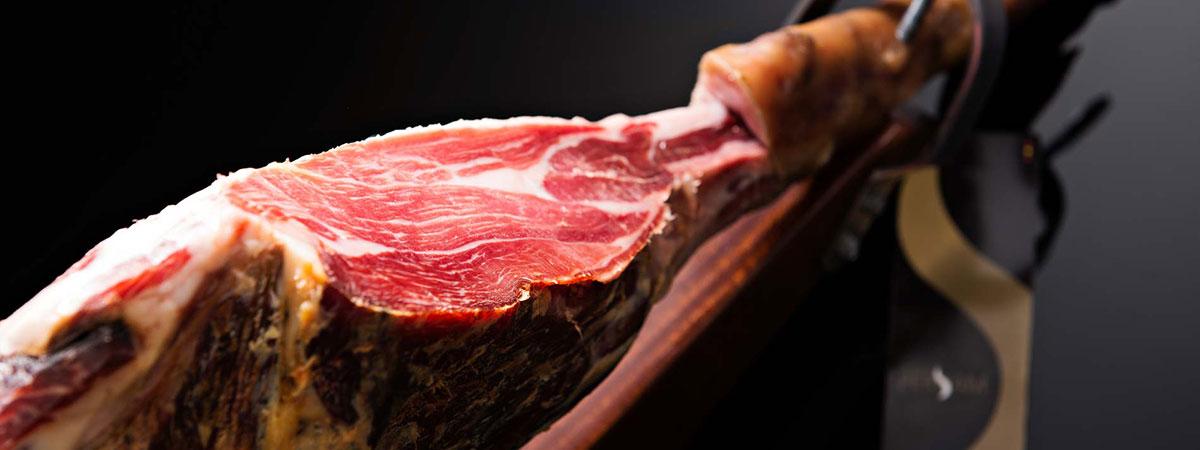 Iberico ham of 'Pata Negra'