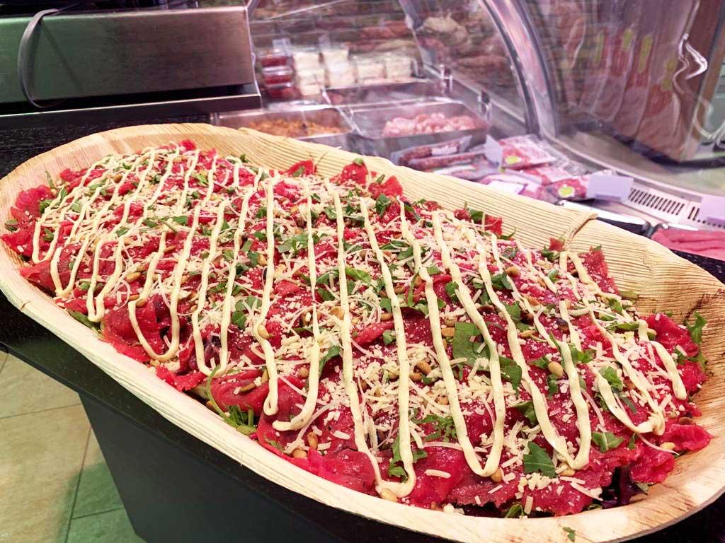 carpaccio salades carpaccioschotel